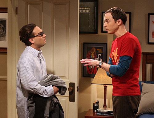 Sheldon nem tud titkot tartani