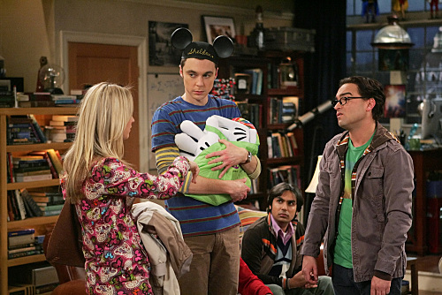 THE BIG BANG THEORY sheldon penny  leonard