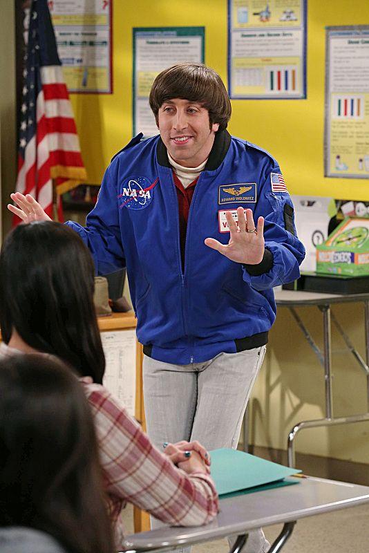 Howard Wolowitz az űrhajós