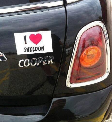 i love sheldon cooper