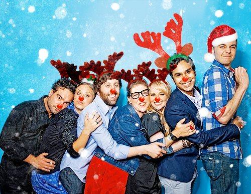 Az Agymenők, Karácsonyi csapata! :)
