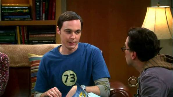 Sheldon kedvenc száma a 73! De miért is?