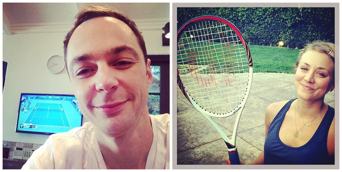 Kaley, Jim.. és a tenisz.. :)
