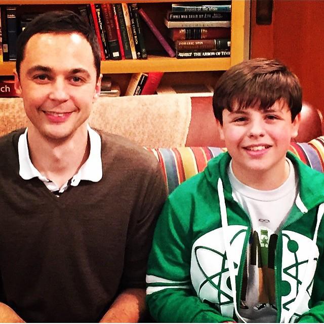 """""""Sheldon"""", Jesse és Jasmine :)"""