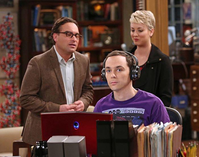 Sheldon és a csöndes fejhallgató :)