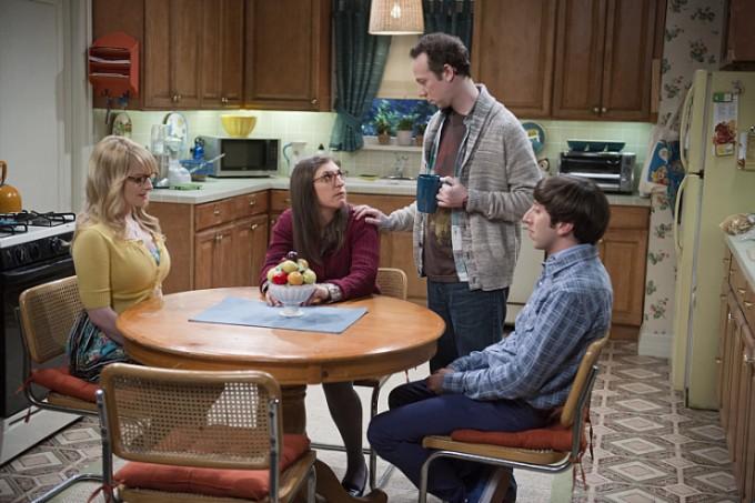 Agymenők 9. évada 1. rész Bernadette, Amy, Stuart és Howard