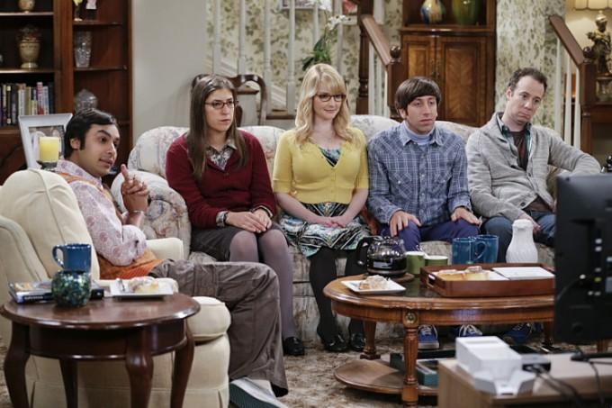 Agymenők 9. évada 1. rész Raj, Amy, Bernadette, Howard és Stuart