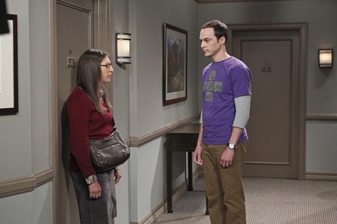 Agymenők 9. évada 1. rész Amy és Sheldon