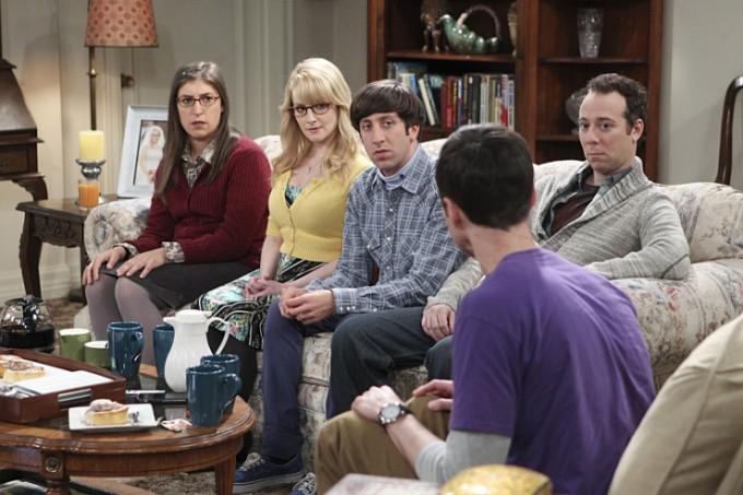 Agymenők 9. évada 1. rész Amy, Bernadette, Howard, Stuart és Sheldon
