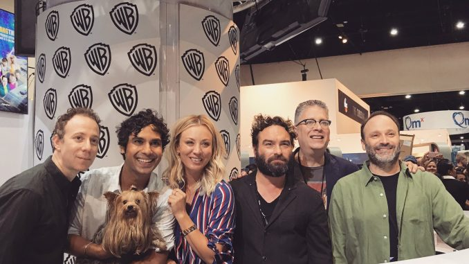 Agymenők a Comic Con-on 2017ben