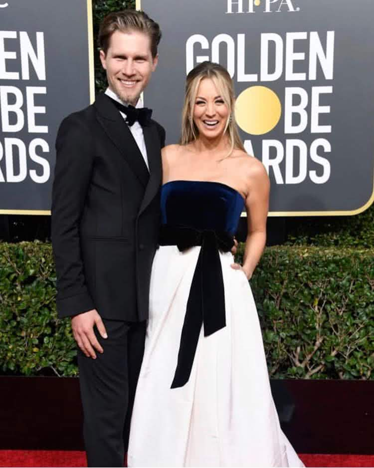 Kaley és Karl  Golden Globe 2019