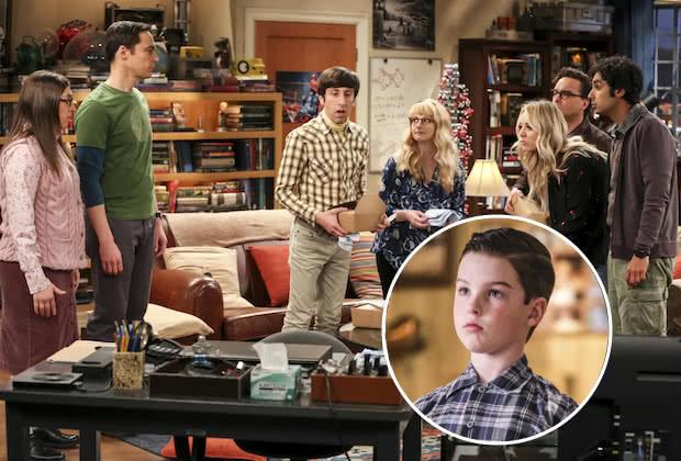 Agymenők és Az ifjú Sheldon