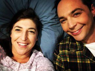 Amy és Sheldon ágyjelenete
