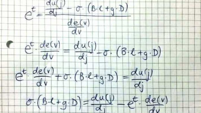 BUÉK egyenlet