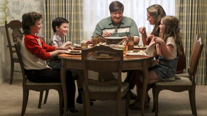 Az Ifjú Sheldon család