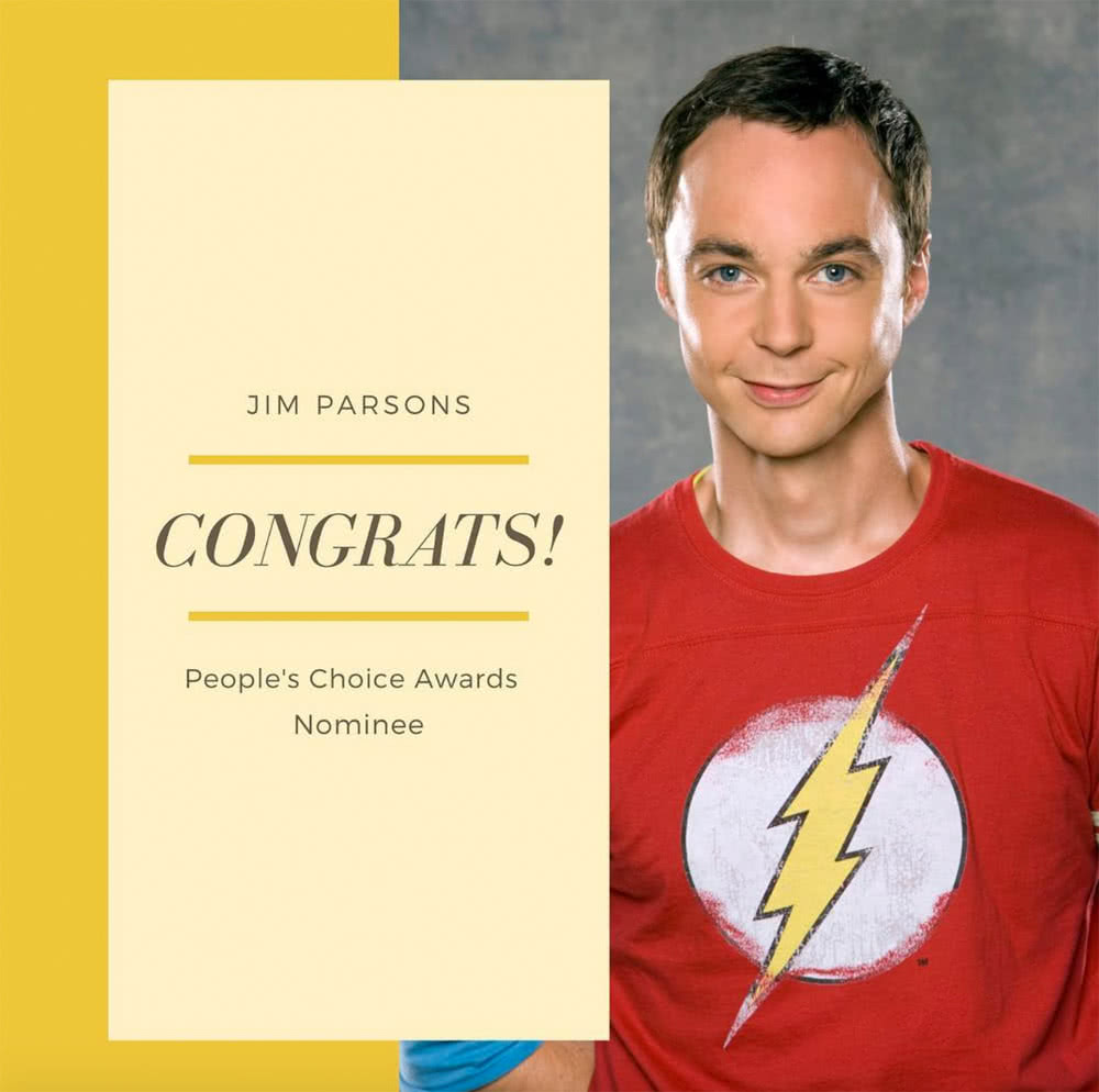 People's Choice Awards - Jim Parsons