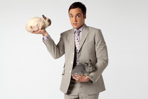 Sheldon es a nyuszik