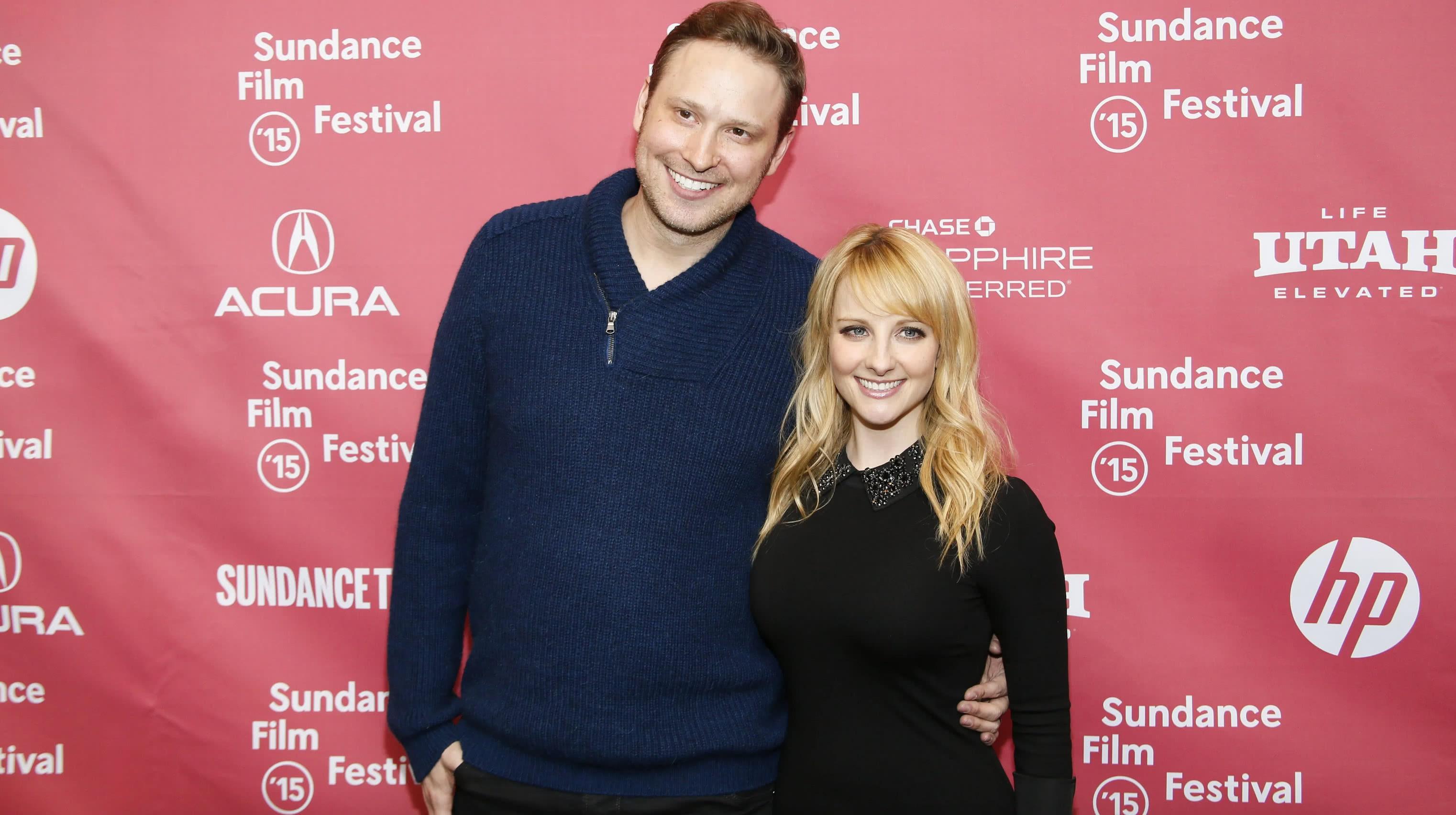 Melissa Rauch és férje Winston Beigel