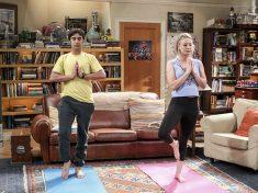 Penny és Raj jógázik, S10E19
