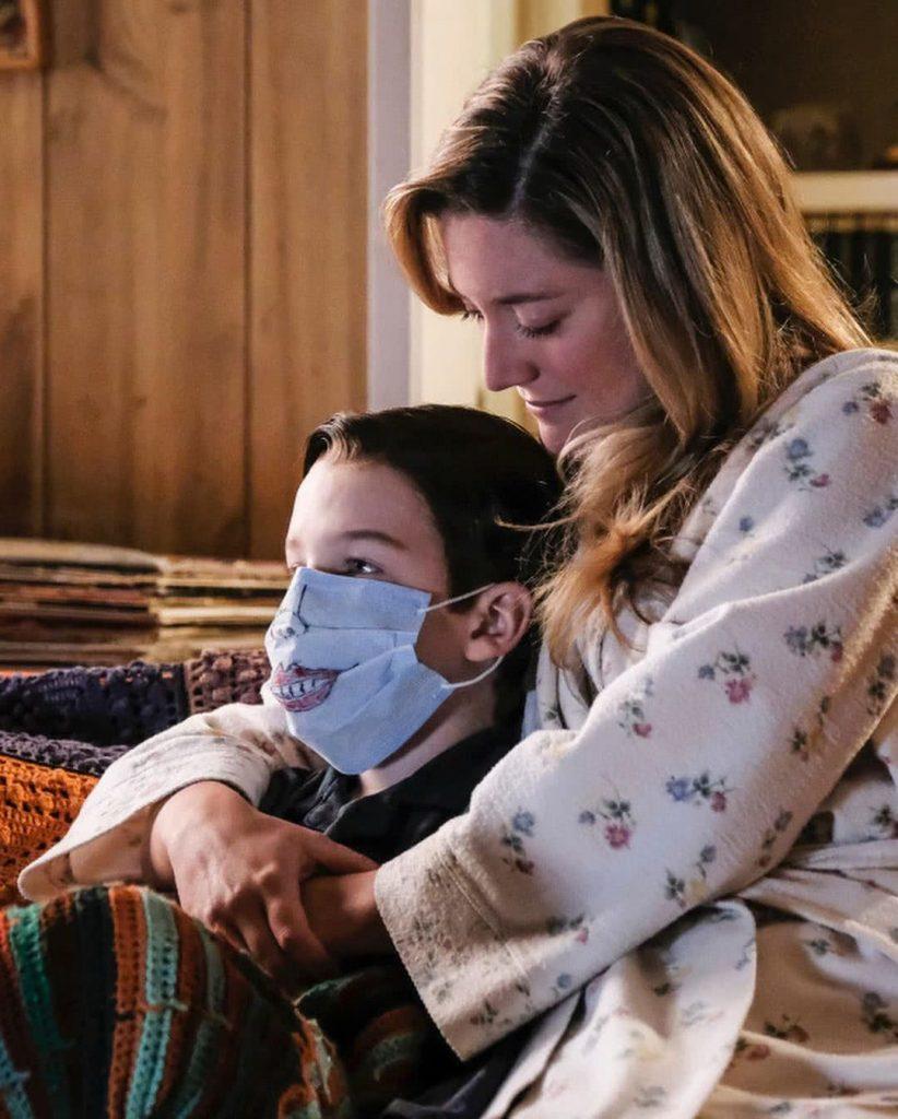Ifjú Sheldon  és anyukája