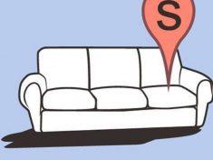 Sheldon kanapeja
